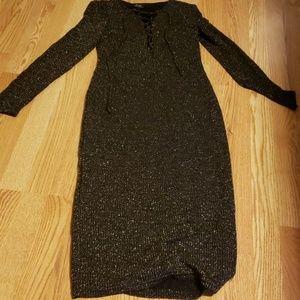 Semi formal sweater dress